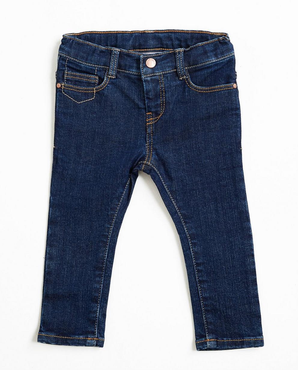 Donkerblauwe slim jeans - dry denim - JBC